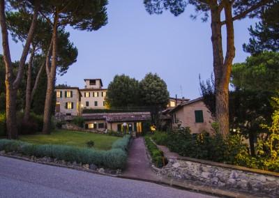 Villa Agostoli alla sera