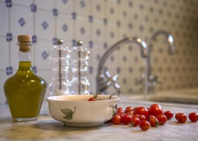 Olio e prodotti dell'orto biologico